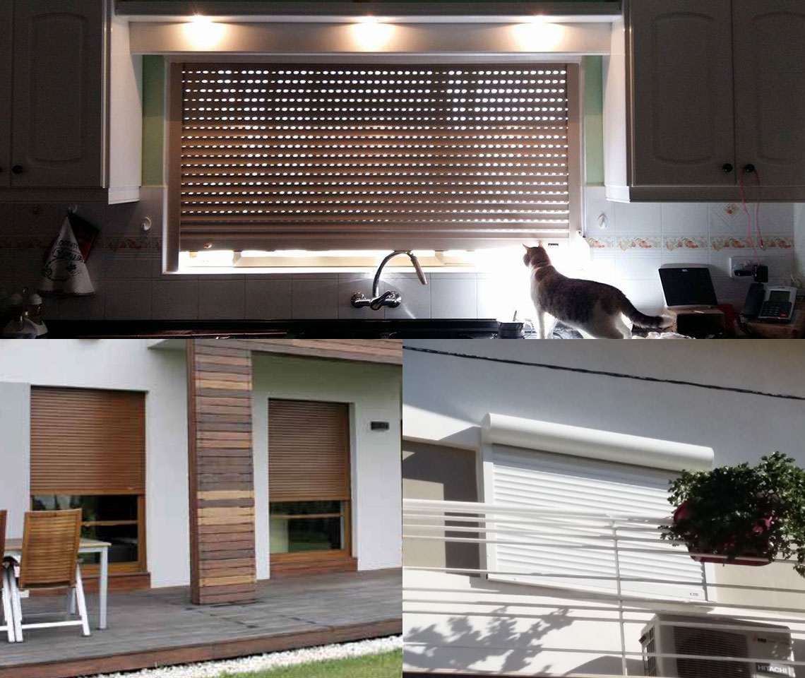 Roller Shutters for Windows and Doors