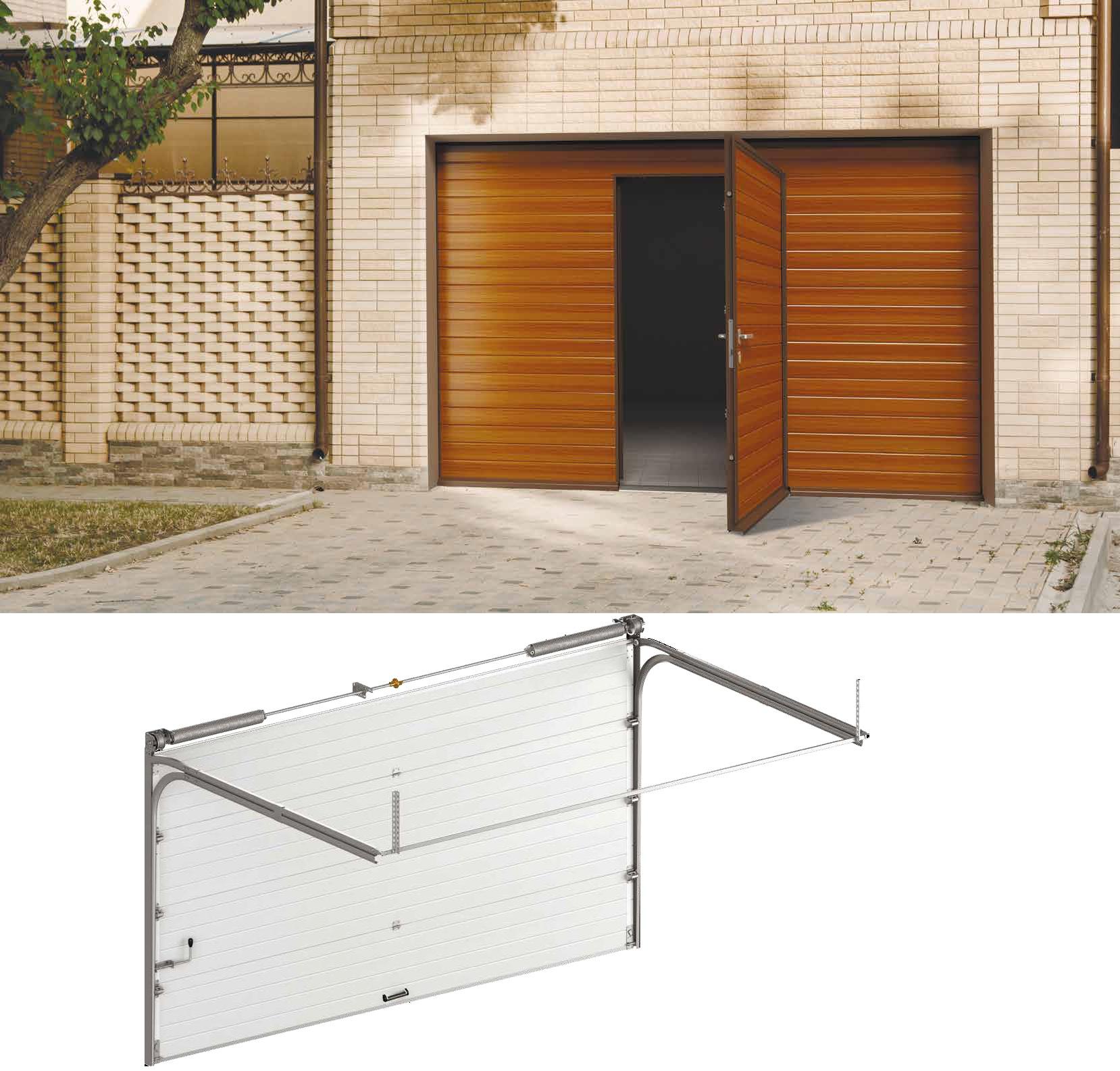 Sectional Garage Doors (Residential & Industrial)